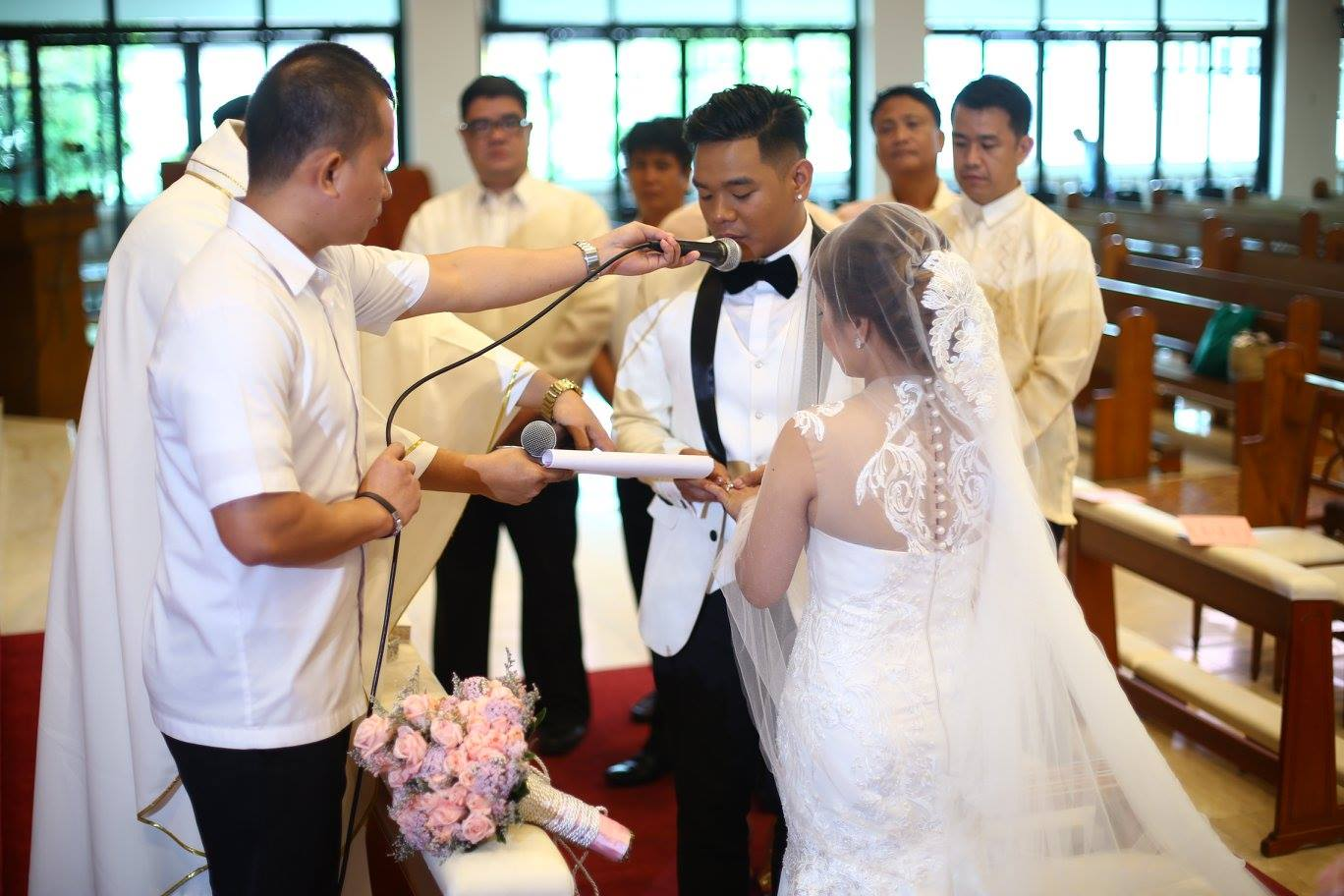 Marriage christ the king parish church greenmeadows for Civil wedding dress philippines